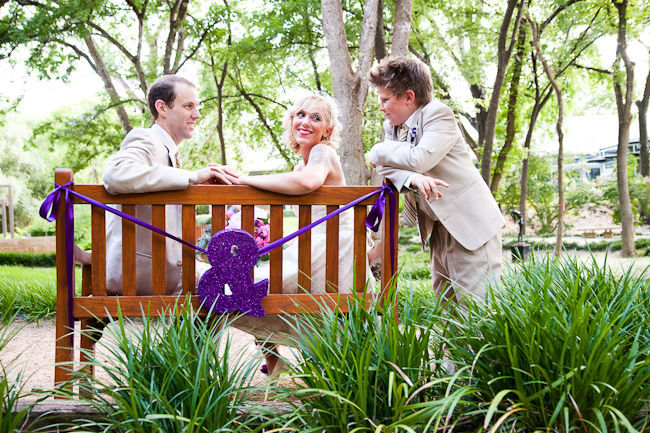 outdoor wedding in austin texas