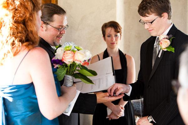 Những khoảnh khắc hạnh phúc đáng nhớ của lễ cưới ở nhà nguyện Dulcinea.