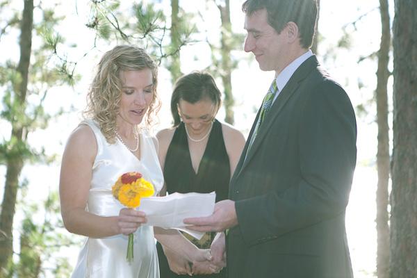 Rustic Minnesota wedding