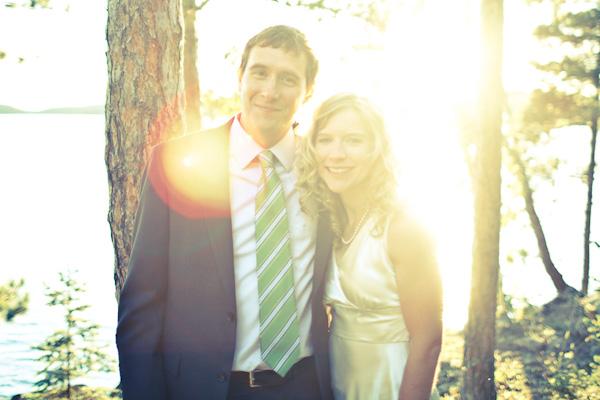cabin wedding