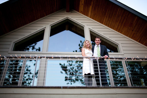 Minnesota cabin wedding