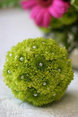 green mum pomander