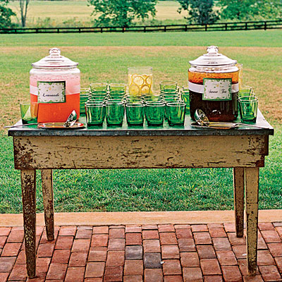 lemonade station wedding