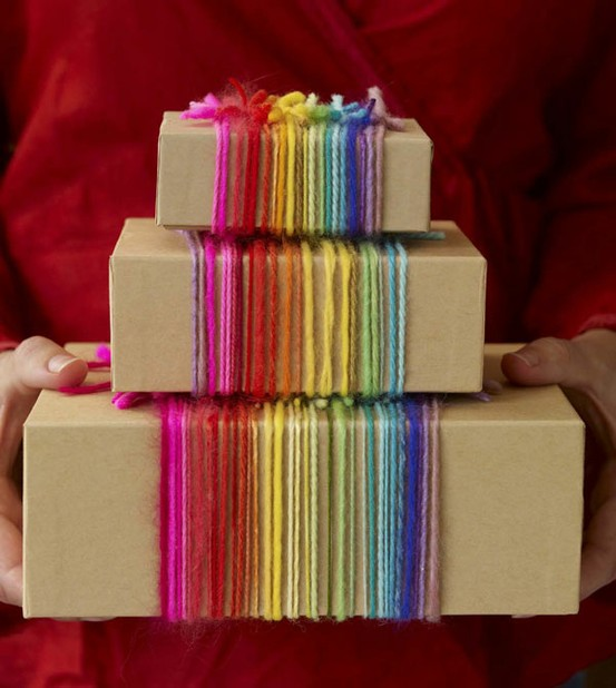 rainbow-wrapping