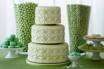 st patricks day wedding cake