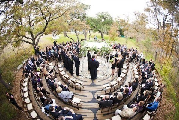Unique ceremony ideas ceremony in the round junglespirit Choice Image