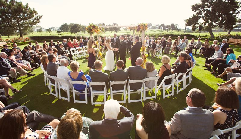 25 Best Ideas About Outdoor Wedding Ceremonies On: Unique Ceremony Ideas: Ceremony In The Round