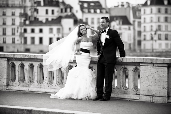 Elegant Paris elopement