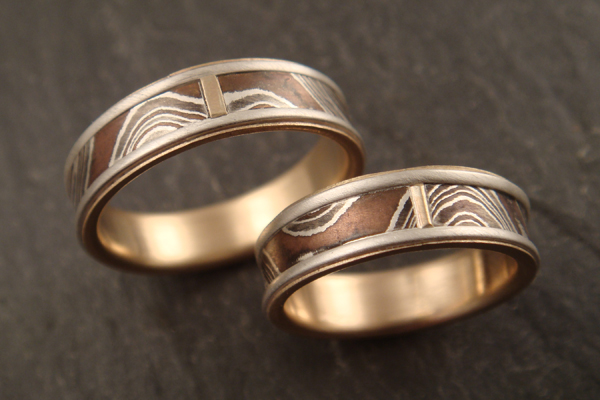 down to the wire for unique handmade wedding rings - Handmade Wedding Rings