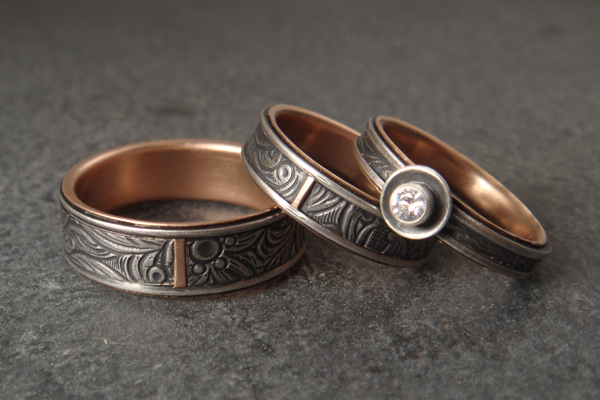 down to the wire for unique handmade wedding rings With homemade wedding rings