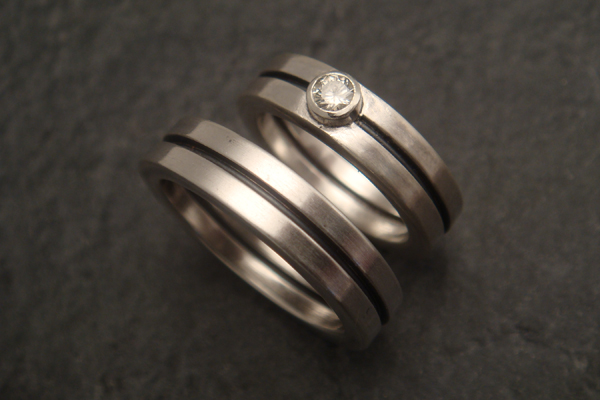 to the wire for unique handmade wedding rings