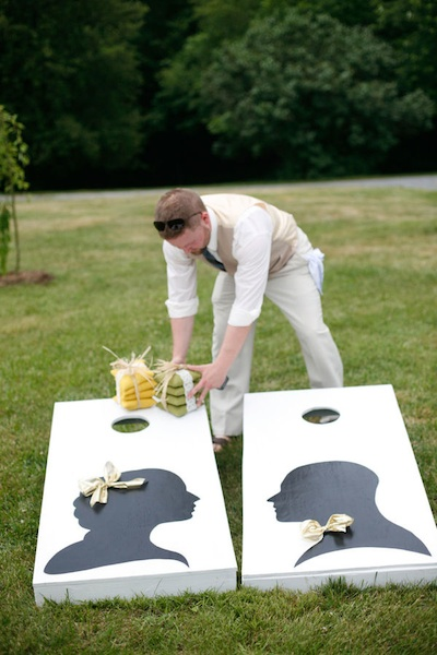 Lawn Games Perfect For A Summer Wedding