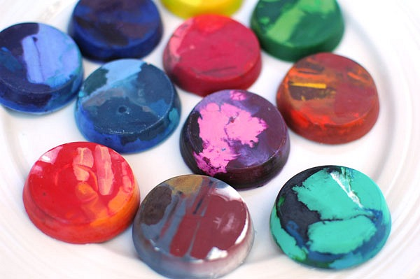 diy melted crayons