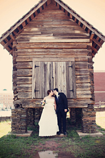Rustic Seminary wedding