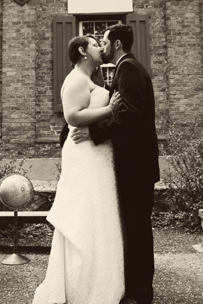 Vintage Seminary wedding