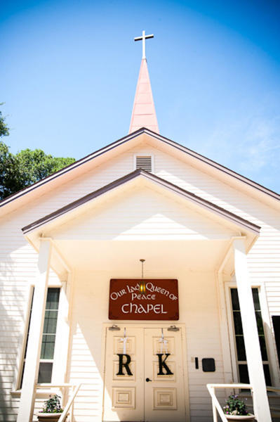 Austin chapel wedding ceremony