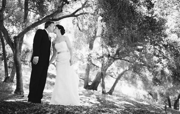 California lodge wedding
