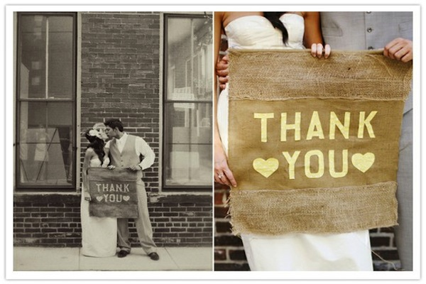 Creative Thank You Cards From The Bride And Groom