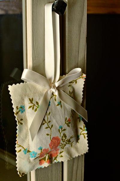 hanging lavender sachets