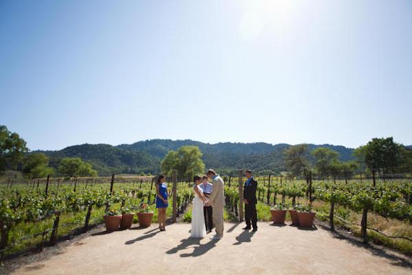 Napa Valley elopement