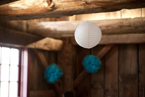 paper lantern wedding decor