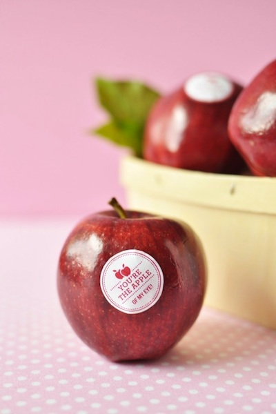 diy wedding favors  fresh fruit