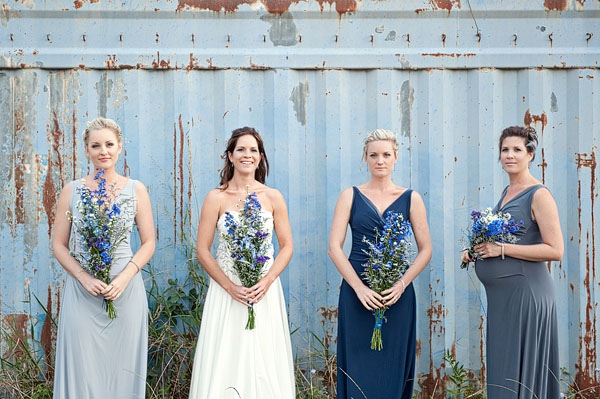 mismatched long bridesmaid dresses