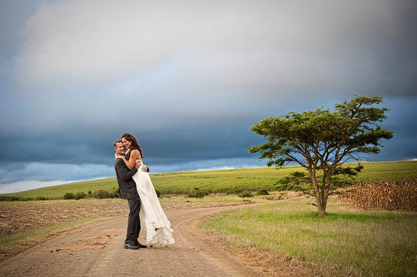 Intimate South African lodge wedding