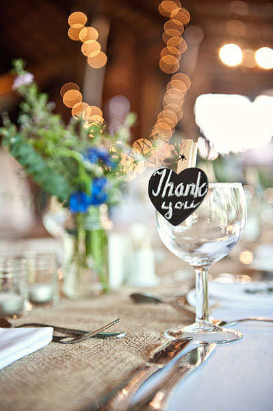 Rustic South African lodge wedding reception