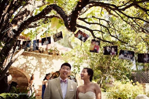 Photos as wedding decor junglespirit Image collections