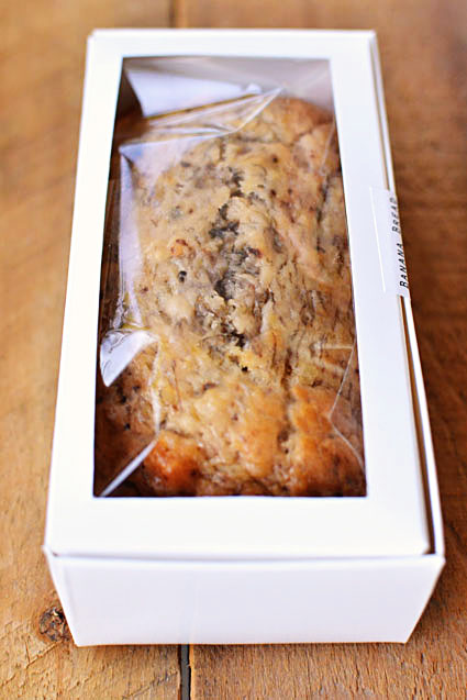 banana bread favor