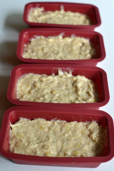 Banana Bread Mini Loaf Favors