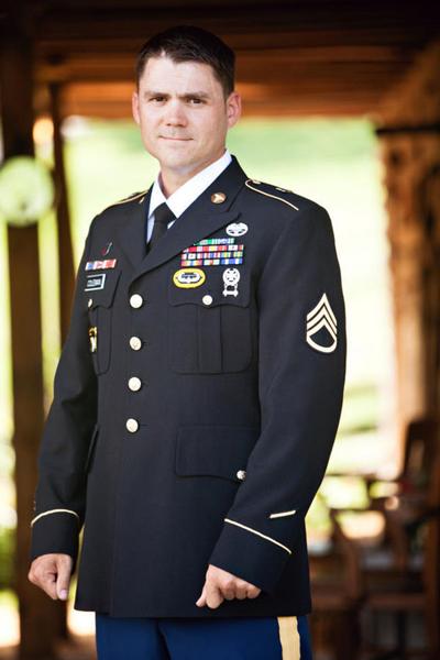 Military groom
