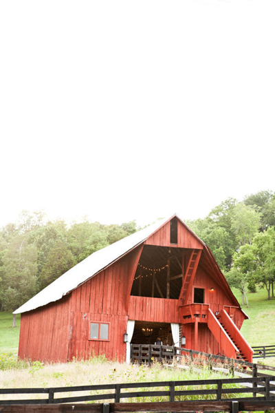 Tennessee barn wedding venue
