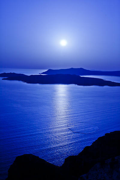 Mediterranean at dusk