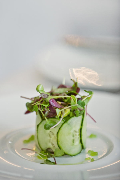 fancy cucumber salad