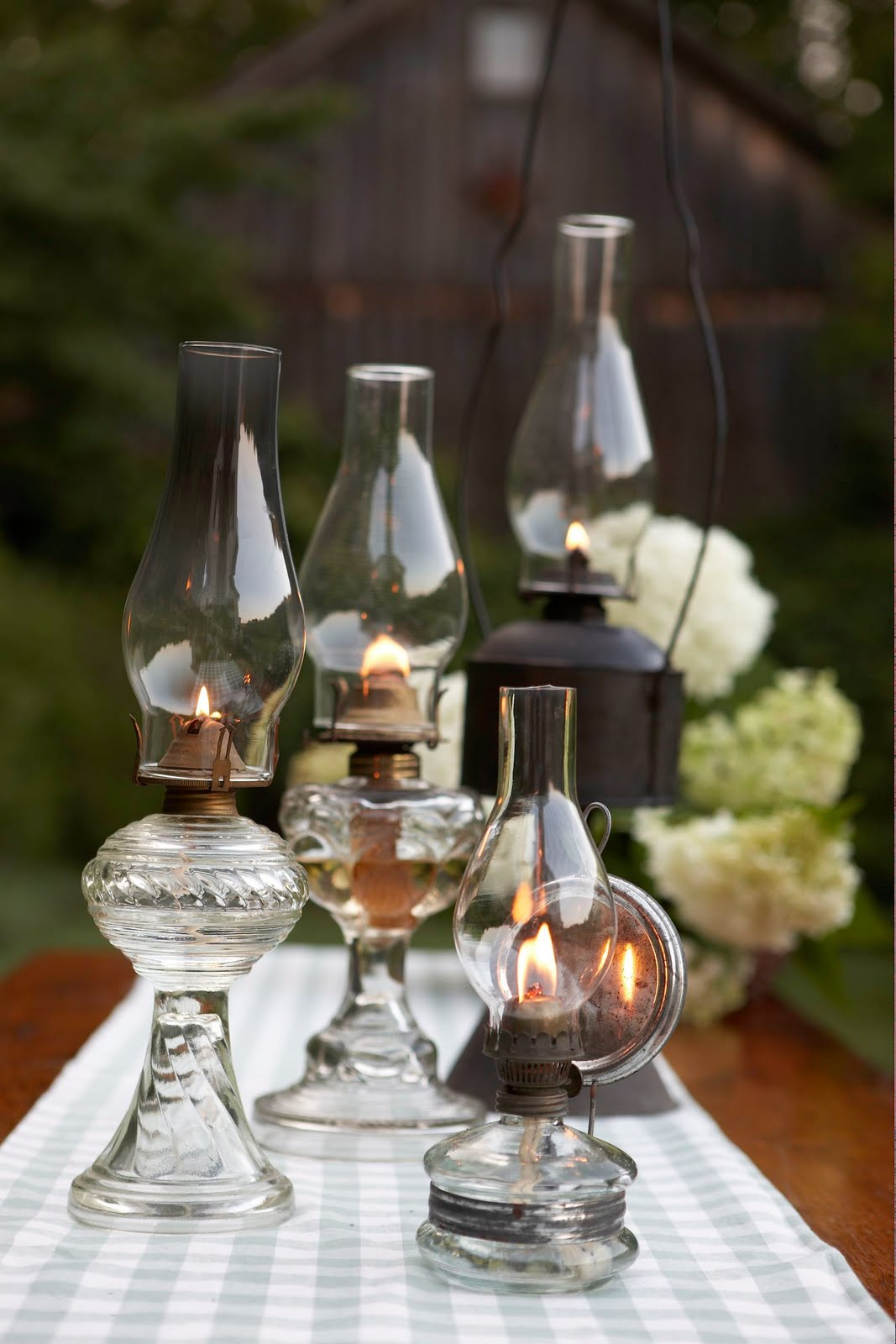 hot vintage wedding finds oil lamps. Black Bedroom Furniture Sets. Home Design Ideas