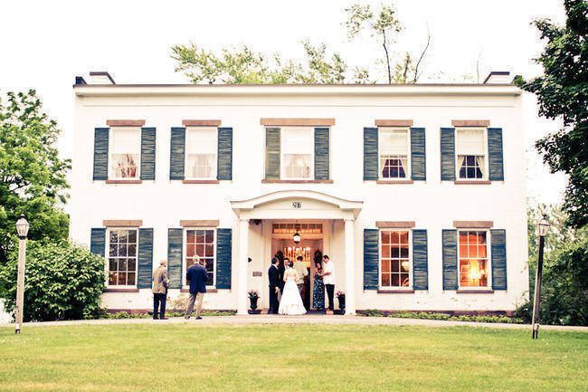 Historic Home Wedding: Elizabeth and Ryan\'s Intimate Wedding in ...