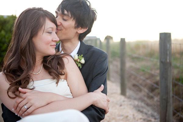 bride and groom portrait in Napa Valley