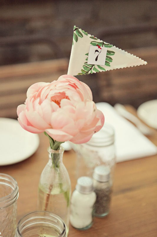 table number flower