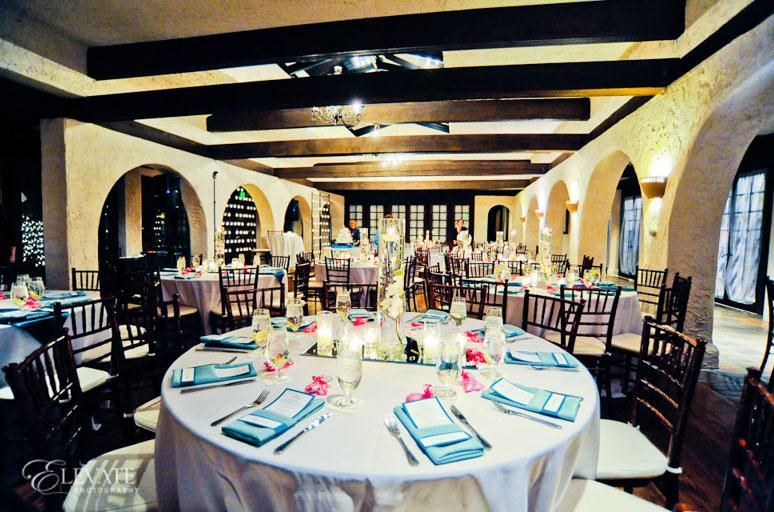 villa parker indoor wedding