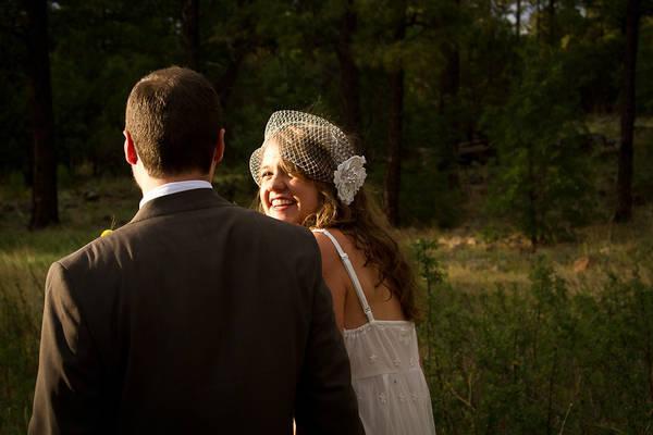 Intimate Arizona Park wedding