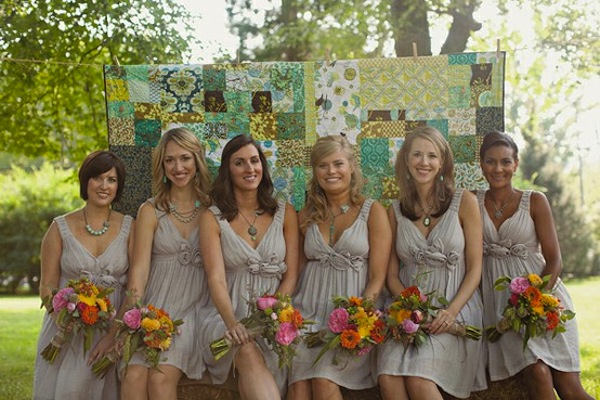 Eclectic Wedding Decor Mix and Match Style