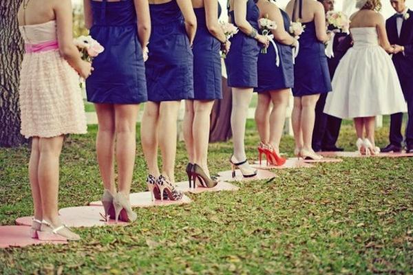 Outside Wedding Shoes - Wedding Shoes