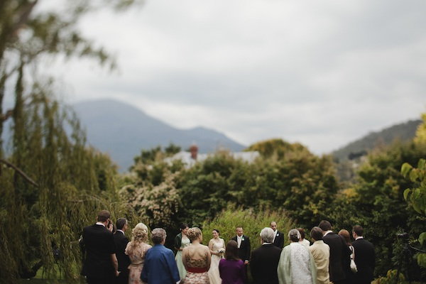 outdoor australian wedding ceremony