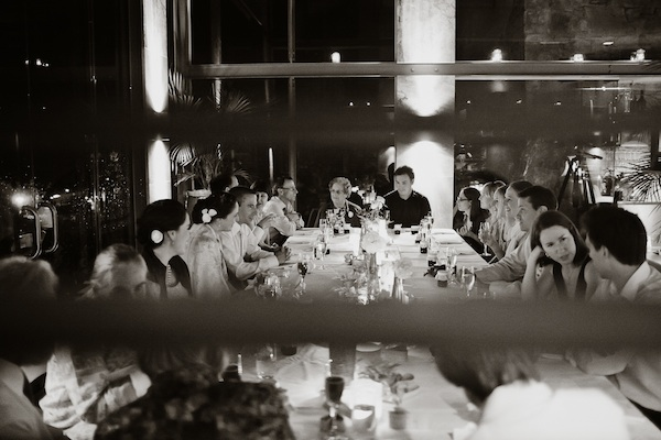Australian hotel wedding reception