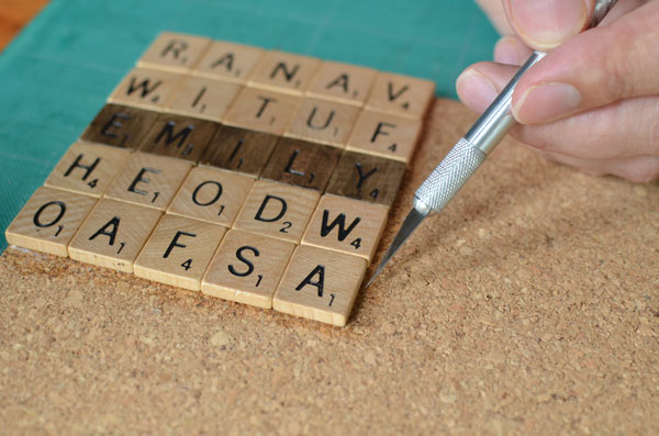 scrabble tile crafts