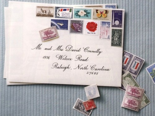 Vintage Wedding: Pimp Your Postage With Vintage Stamps