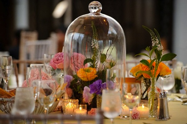 wedding decor trend the bell jar