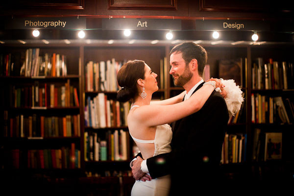 ny bookstore wedding